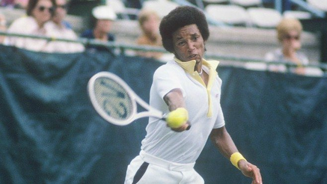 Image result for arthur ashe wins wimbledon