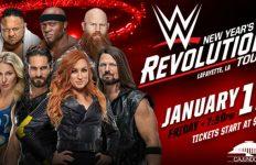 WWE at the Cajundome